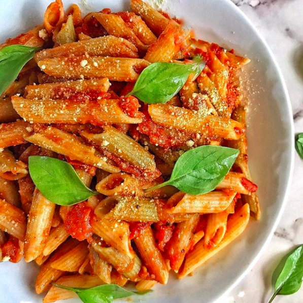 Basic Penne Arrabiata